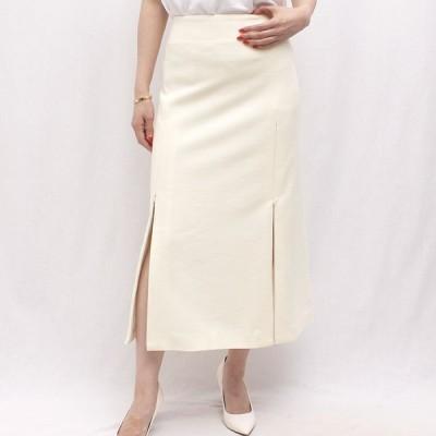 AMBELL アンベル SKT-004-2 ウール スリットジップスカート 正規品ならビリエッタ。送料無料 正規品