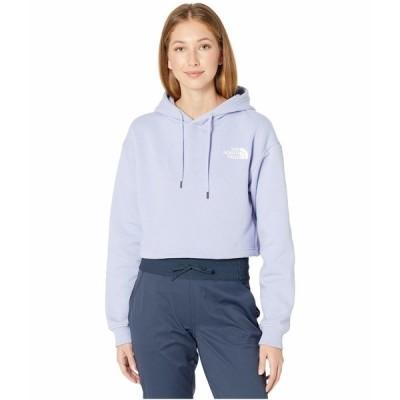 ノースフェイス パーカー・スウェットシャツ アウター レディース Logo Crop Drop Hoodie Sweet Lavender