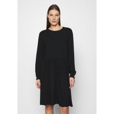 ソフト レベルス ワンピース レディース トップス GIANNA DRESS - Day dress - black