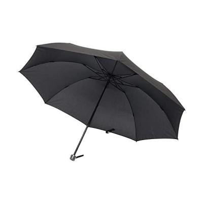 洋傘一筋-小宮商店-<超軽量&超大判-3段折傘>-70cm-重さ205g-超軽量カーボン骨折畳み傘-テフロン加工-黒
