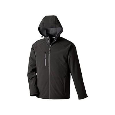 North End Prospect 2層フード付きソフトシェルジャケット。88166 US サイズ: 6L カラー: ブラック