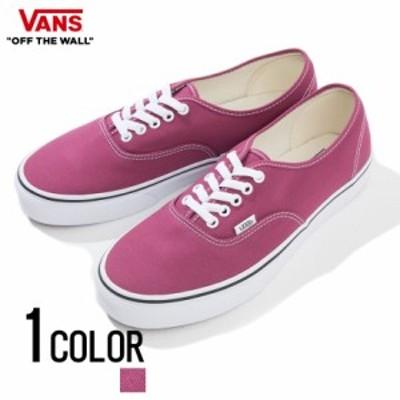 スニーカー メンズ VANS バンズ Authentic Dry Rose True White 即日発送 靴 くつ シューズ オーセンティック ローカット シンプル キャ