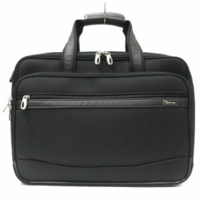 【中古】パスファインダー Pathfinder DURAMAX ビジネスバッグ ブリーフケース 大容量 ナイロン 黒 ブラック 鞄