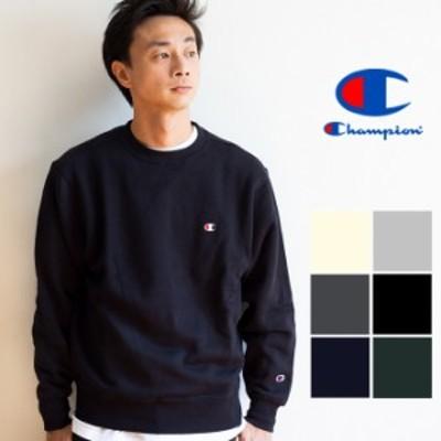 【 Champion チャンピオン 】 ベーシック チャンピオン 裏起毛 クルーネックスウェットシャツ 19FW C3-Q006 / パーカー フード ロゴ カジ