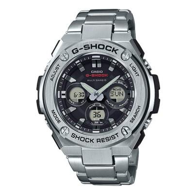 G-SHOCK Gショック ジーショック G-STEEL Gスチール カシオ CASIO 電波ソーラー アナデジ 腕時計 シルバー ブラック GST-W310D-1AJF 国内正規モデル