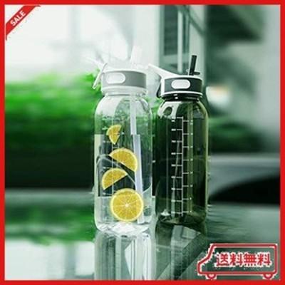 ストロー ボトル 水筒 bottled joy ウォーターボトル 800ml 1000ml bpaフリー スポーツボトル 子供大人兼用 高い密封性 直飲み 軽量 耐冷