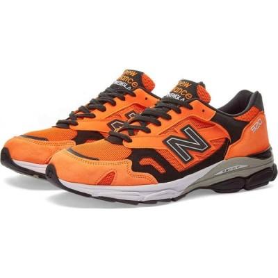 ニューバランス New Balance メンズ スニーカー シューズ・靴 m920neo - made in england Orange/Black