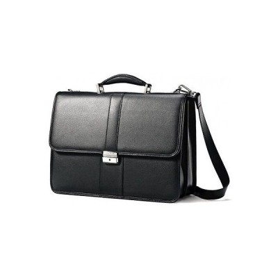 ラゲッジ スーツケース サムソナイト Samsonite Flapover Leather Business Case Black  43120-1041