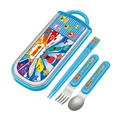 【雑貨マルシェ】食洗機対応スライド式箸。フォーク。スプーンセット お弁当箱・水筒(ニッセン、nissen)