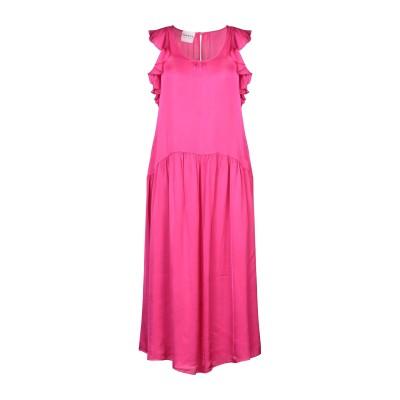PEPITA 7分丈ワンピース・ドレス フューシャ 44 レーヨン 61% / レーヨン 39% 7分丈ワンピース・ドレス