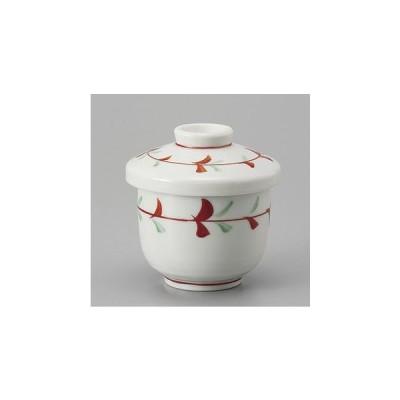 茶碗蒸し 輪花むし碗 小 おしゃれ 和食器 業務用 美濃焼 9a155-31-34g
