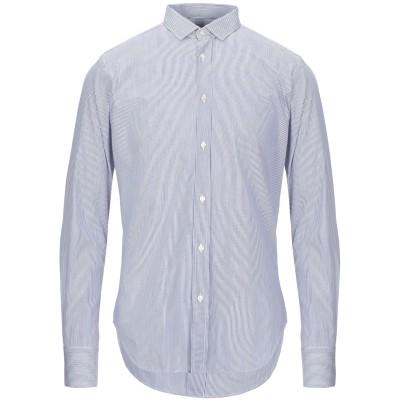 LR LIBERTY ROSE シャツ ブルー 40 コットン 100% シャツ