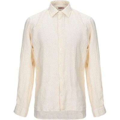 アルテア ALTEA シャツ ライトイエロー XL リネン 100% シャツ