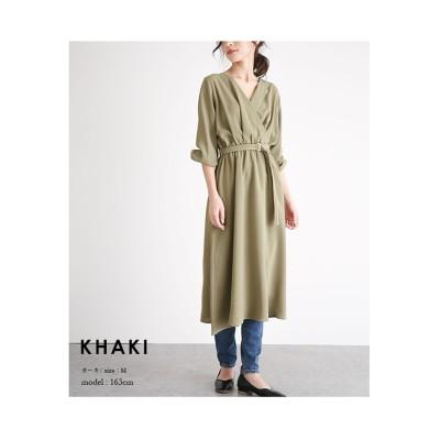 【la-gemme】カシュクールワンピース (ワンピース)Dress