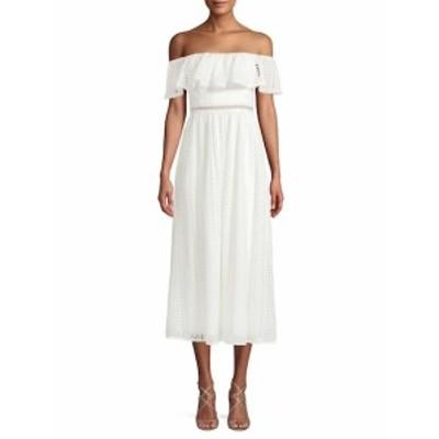 ジェイゴッドフリー レディース ワンピース Off-The-Shoulder Midi Dress