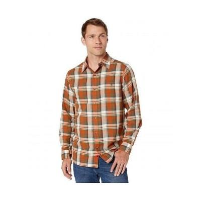 Mountain Khakis マウンテンカーキス メンズ 男性用 ファッション ボタンシャツ Meridian Long Sleeve Shirt - Terracotta