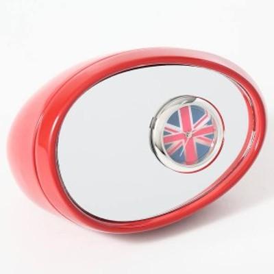 ミニチュア 置時計 <車> サイドミラー 赤 レッド C3215-RD ミニチュア クロック コレクション 置時計 時計 ギフト プレゼント 贈り物