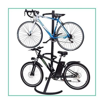 送料無料!XLQ Dual Bike Stand/Rack - Wall or Floor Mountable with Space for 2 Bikes ? Ideal for Garage, Shed, Garden or Workplace ?