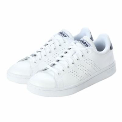 アディダス ADVANCOURTLEAU (F36423) メンズ レディース スニーカー : ホワイト×ネイビー adidas