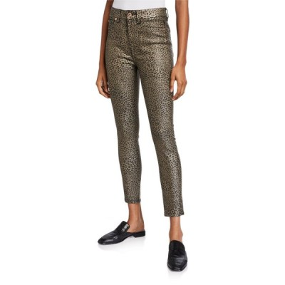 セブンフォーオールマンカインド レディース デニムパンツ ボトムス High-Waist Coated Ankle Skinny Jeans