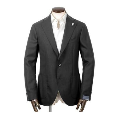 ラルディーニ LARDINI / 国内正規品 / 20-21AW!3PLYウールストレッチトニック3Bジャケット「JS0526AQ」(ブラック)/ オ