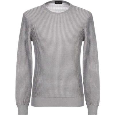 ロベルトコリーナ ROBERTO COLLINA メンズ ニット・セーター トップス sweater Light grey