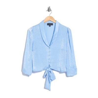 ランドリーバイシェリーシーガル レディース シャツ トップス Knot Hem Blouse BLUE BELL
