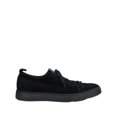 SANTONI スニーカー  メンズファッション  メンズシューズ、紳士靴  スニーカー ブラック