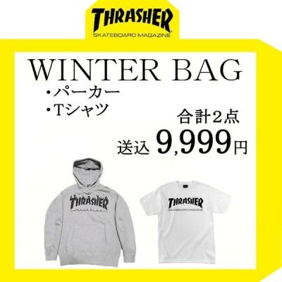 THRASHER スラッシャー 福袋 送料無料 ハッピーバッグ ウィンターバッグ 2021 パーカー Tシャツ