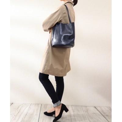 florist / 2way牛革タックトートバッグ WOMEN バッグ > トートバッグ