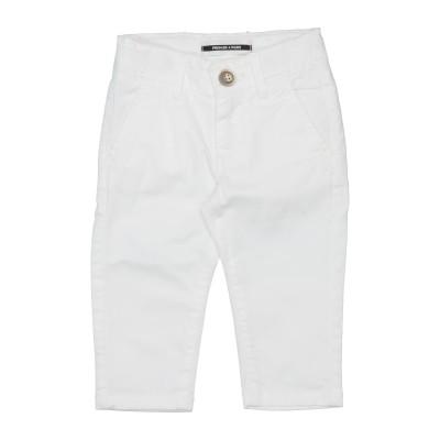 PREMIER 4 PARIS パンツ ホワイト 9 コットン 97% / 指定外繊維(その他伸縮性繊維) 3% パンツ