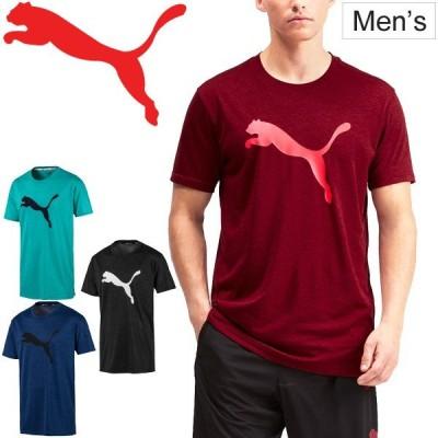 Tシャツ 半袖 メンズ プーマ PUMA FAVORITE ヘザー キャット SS 自宅トレーニング TEE スポーツウェア ランニング ジョギング ジム 部活 男性 /518821