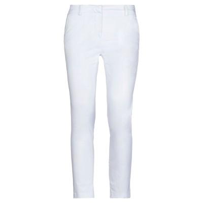 コンタット KONTATTO パンツ ホワイト XS コットン 97% / ポリウレタン 3% パンツ
