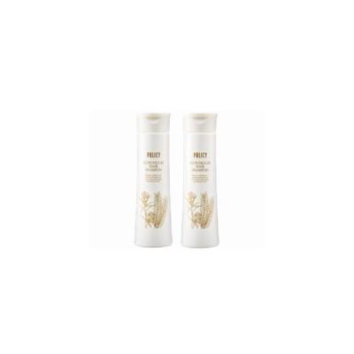 ポリシー エコロアルゲ ヘアシャンプー2本セット (310ml×2本) 頭皮 美容成分 角質層 浸透 地肌 髪 指通り 潤い 保湿 ノンシリコン 毛
