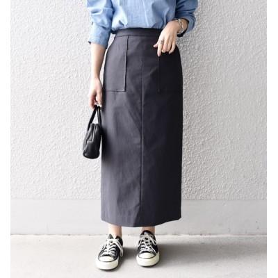 【シップス/SHIPS】 ハイストレッチタイトスカート