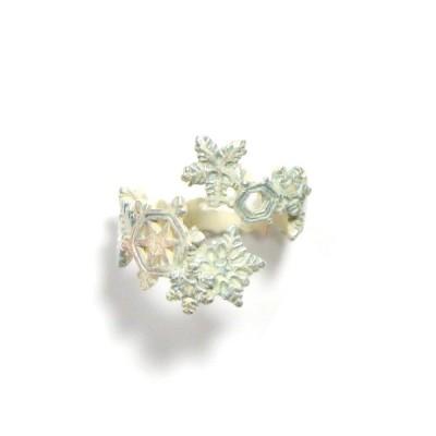 リング 雪の結晶 レディース PalnartPoc パルナートポック 公式  ブラフシューペリ ア プレゼント ダイアモンドダストリング