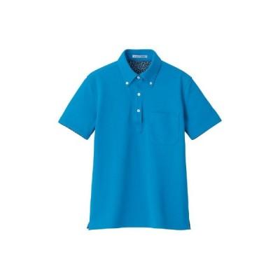ボンマックス レディス吸水速乾ポロシャツ(花柄A) ターコイズ L FB4018L(直送品)