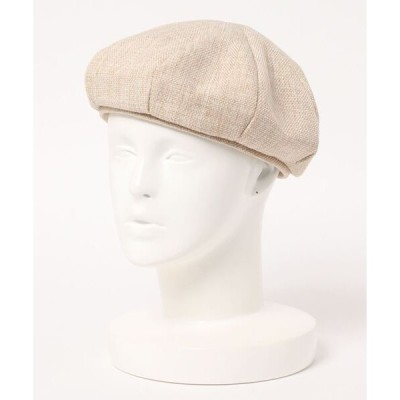 帽子 ▽ リネン調ベレー帽 / LINEN-STYLE BERET