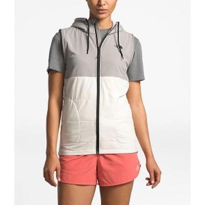 (取寄)ノースフェイス レディース マウンテン スウェットシャツ ベスト The North Face Women's Mountain Sweatshirt Vest Silt Grey / V