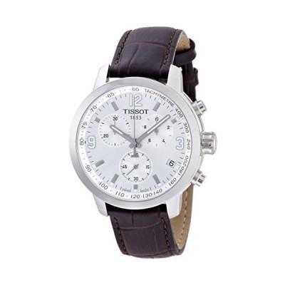 ティソt0554171603700?t-sport PRC 200メンズブラウンクロノグラフ腕時計並行輸入品