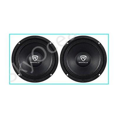 "(2) Rockville RM64PRO 6.5"" 400 Watt 4 Ohm SPL Mid-Bass Midrange Car Speakers【並行輸入品】"