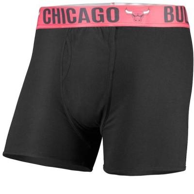 コンセプツ スポーツ メンズ ボクサーパンツ アンダーウェア Chicago Bulls Concepts Sport Boxer Brief with Sublimated Waistband