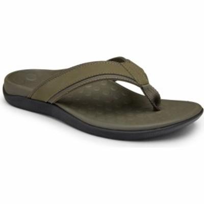 バイオニック VIONIC メンズ ビーチサンダル シューズ・靴 Tide Flip Flop Olive