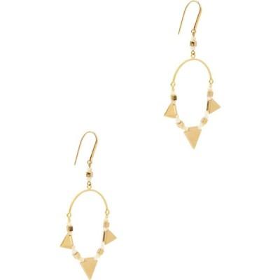 イザベル マラン Isabel Marant Etoile レディース イヤリング・ピアス フープピアス ジュエリー・アクセサリー Gold-tone hoop earrings Gold