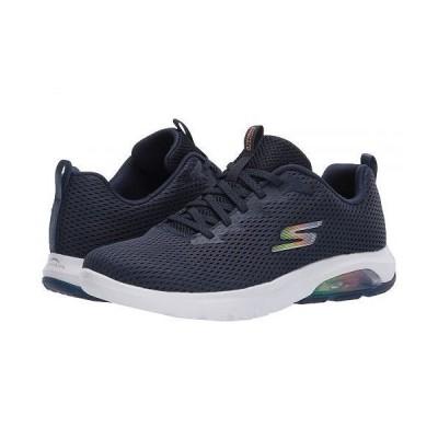 SKECHERS Performance スケッチャーズ レディース 女性用 シューズ 靴 スニーカー 運動靴 Go Walk Air - Navy/White