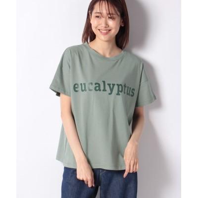 【メルローズ クレール】 Tシャツ レディース セージ F MELROSE Claire