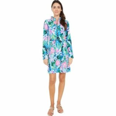 リリーピュリッツァー Lilly Pulitzer レディース ワンピース ワンピース・ドレス UPF 50+ Skipper Ruffle Dress Onyx You Me and Giraff