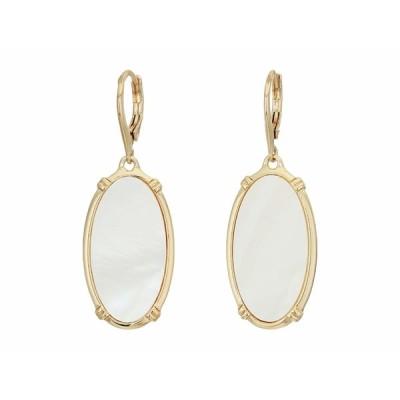 ラルフローレン ピアス&イヤリング アクセサリー レディース Mother-of-Pearl Drop Earrings White