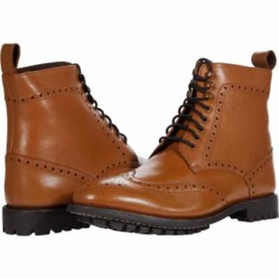アンソニー ヴィア Anthony Veer メンズ ブーツ ウイングチップ シューズ・靴 Grant Wing Tip Boots Walnut