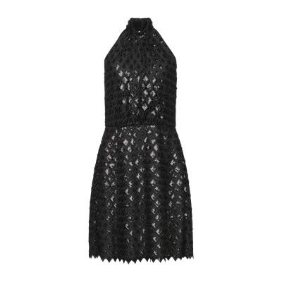 エンポリオ アルマーニ EMPORIO ARMANI ミニワンピース&ドレス ブラック 38 ポリエステル 100% ミニワンピース&ドレス